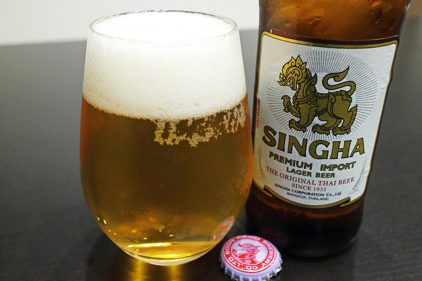 タイのビール「シンハー」堪能!【世界遺産とビールと私】