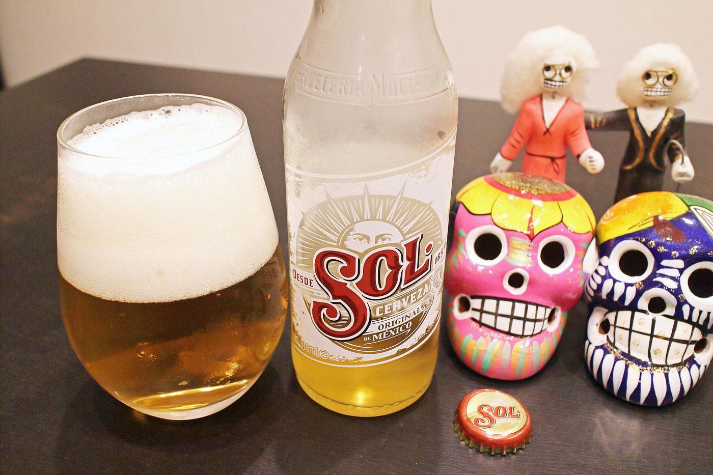 メキシコのビール「SOL(ソル)」堪能!【世界遺産とビールと私】