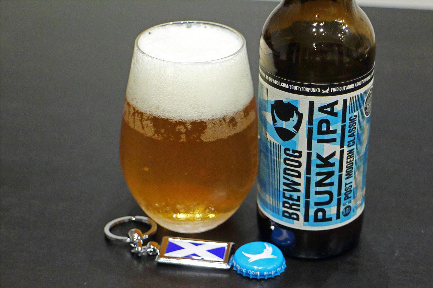 スコットランドのビール「パンクIPA」堪能!【世界遺産とビールと私】