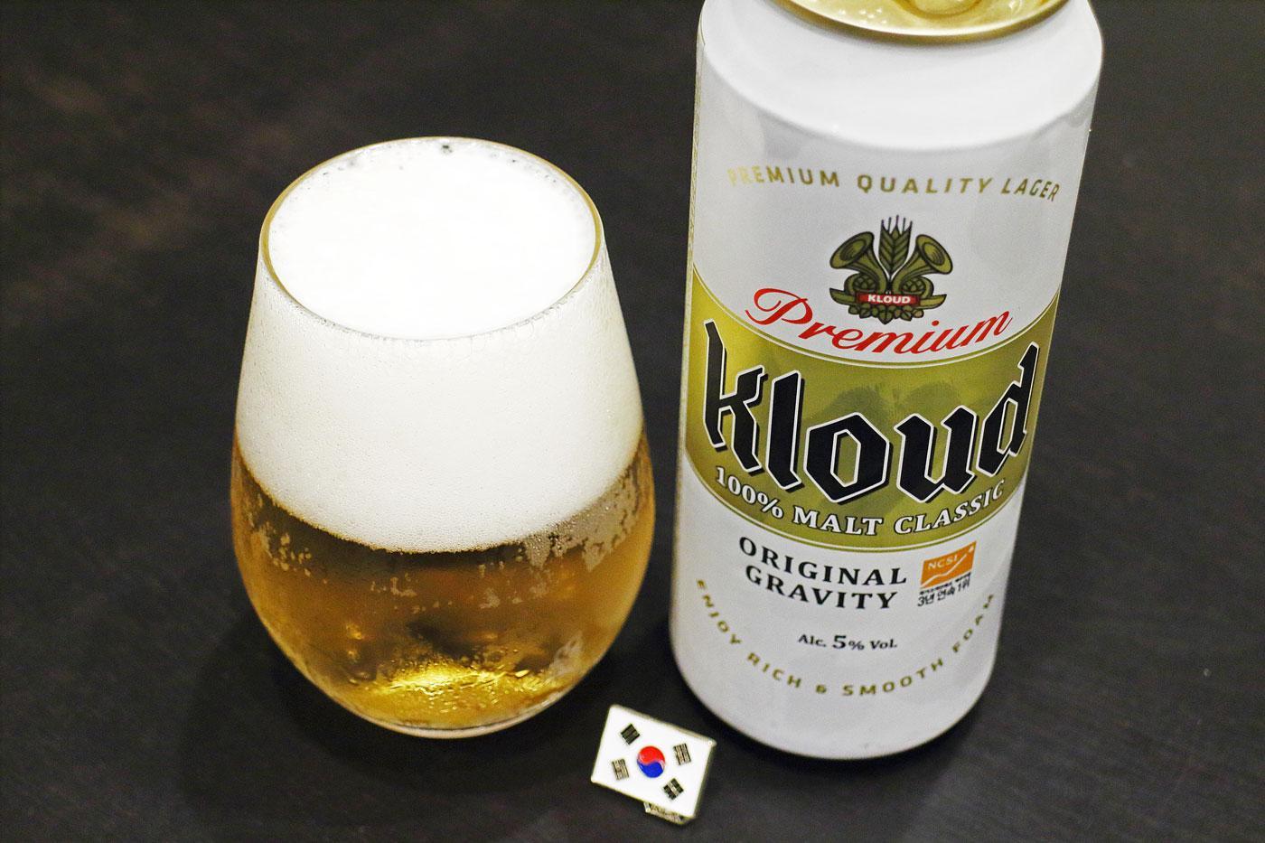 韓国のビール「Kloud(クラウド)」堪能!【世界遺産とビールと私】