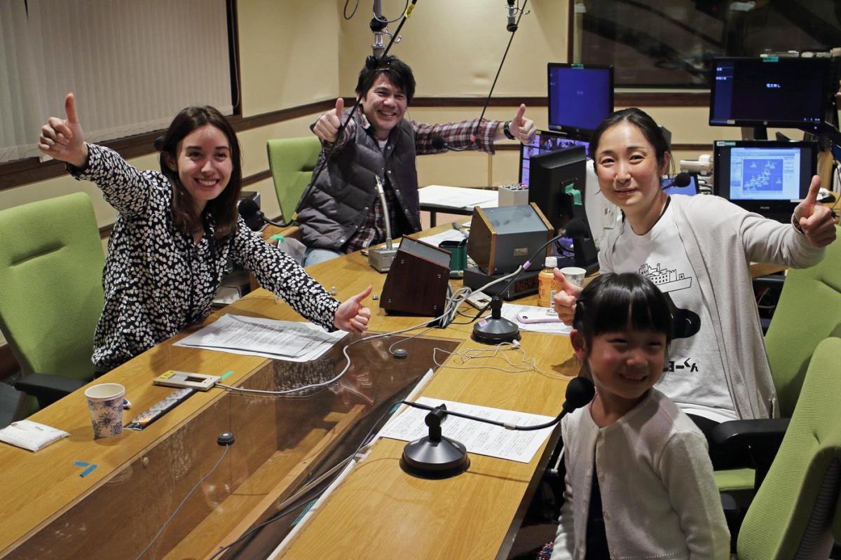 ラジオの生放送!NHKちきゅうラジオに出演!6歳の1/2号もラジオデビュー!
