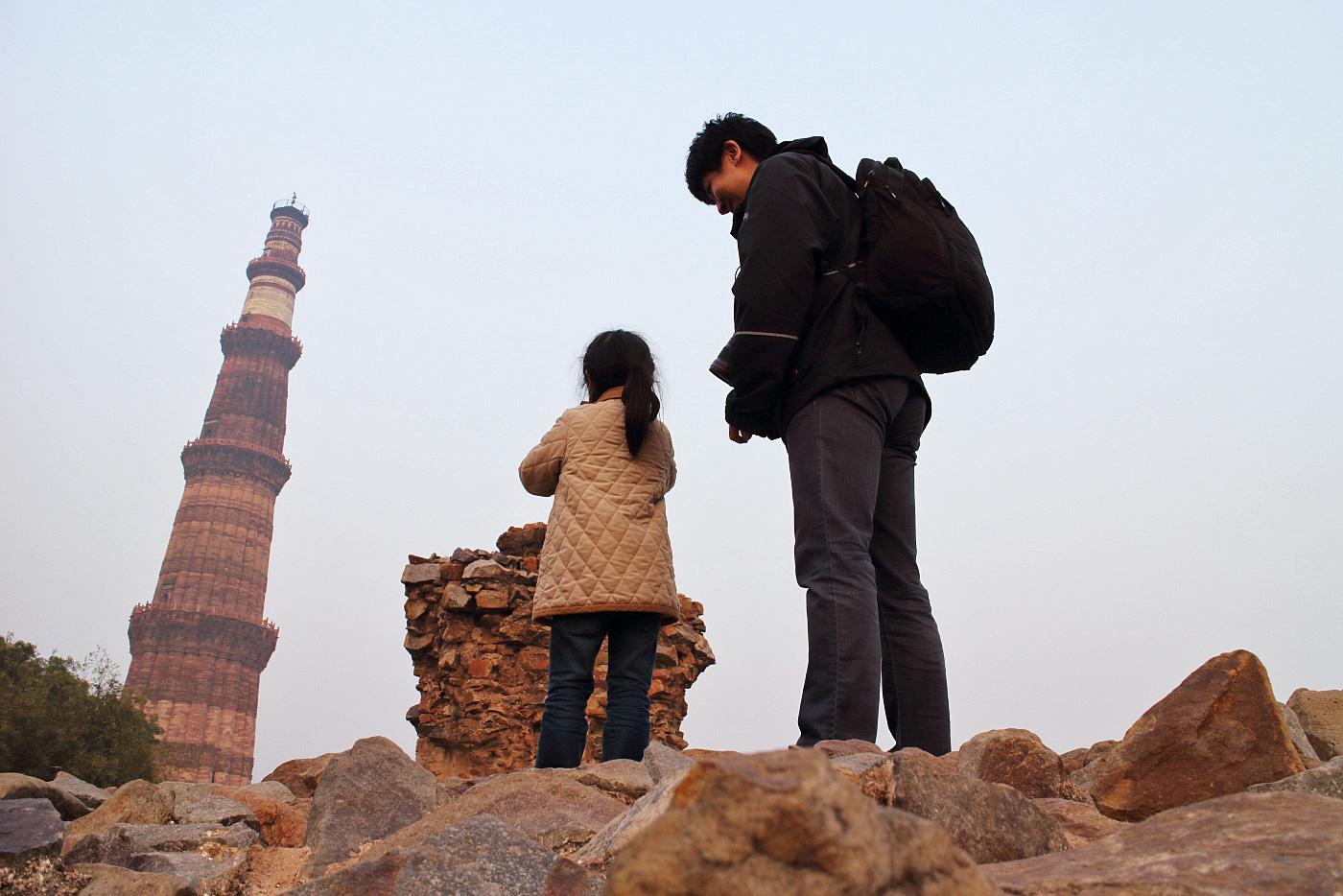 子連れインドで9件の世界遺産を訪問!小学一年生(6歳児)と行くインド8日間の旅!