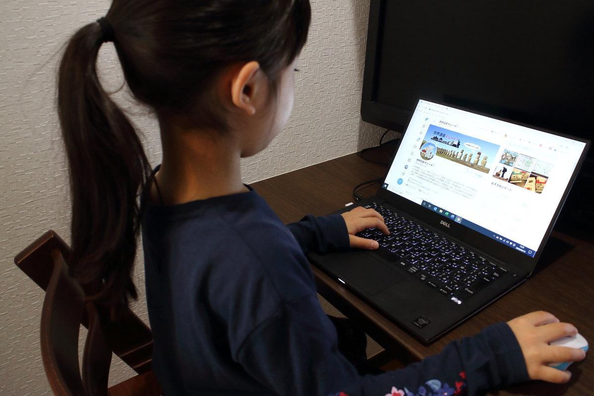 キッズ世界遺産ニスト(7歳)!Twitter投稿の様子を動画でご紹介!