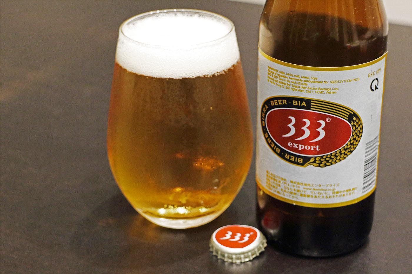 ベトナムのビール「333(バーバーバー)」堪能!【世界遺産とビールと私】