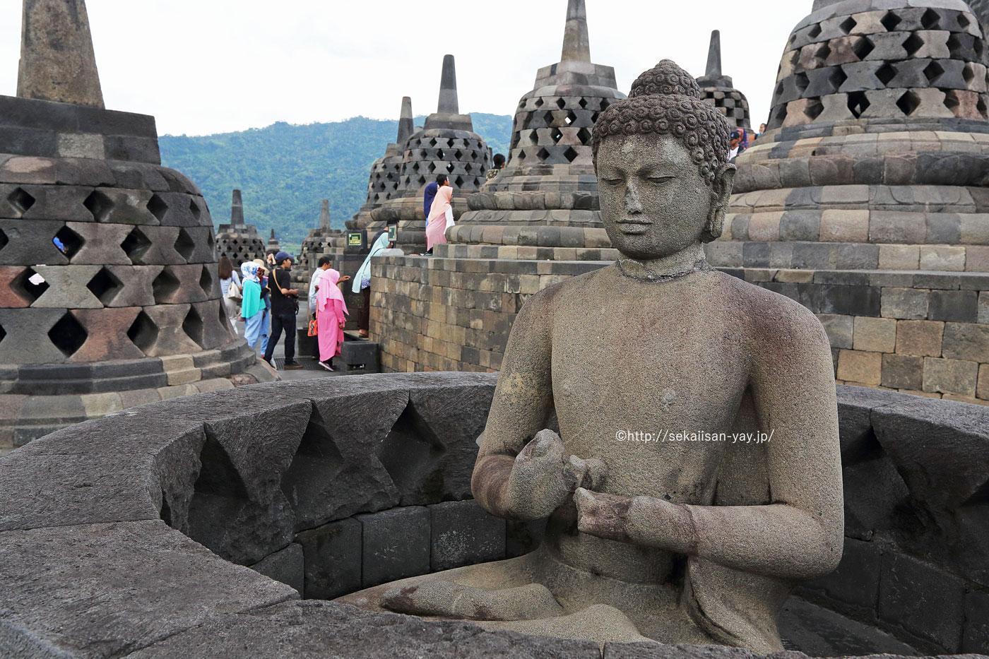 NHKラジオ第1マイあさ!11月はインドネシアの世界遺産「ボロブドゥール寺院遺跡群」をご紹介
