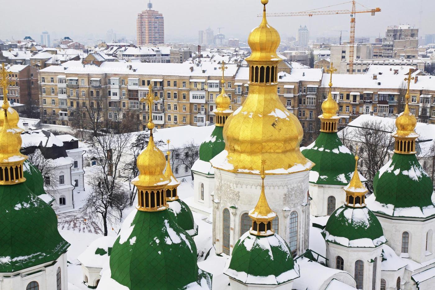 NHKラジオ第1マイあさ!1月はウクライナの世界遺産「聖ソフィア大聖堂」をご紹介