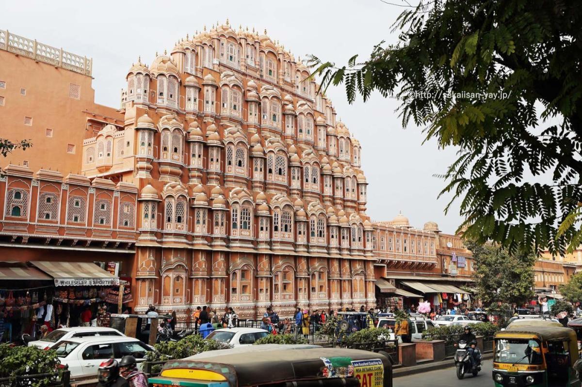 NHKラジオ第1マイあさ!3月はインドの世界遺産「ラジャスタン州のジャイプール市街」をご紹介