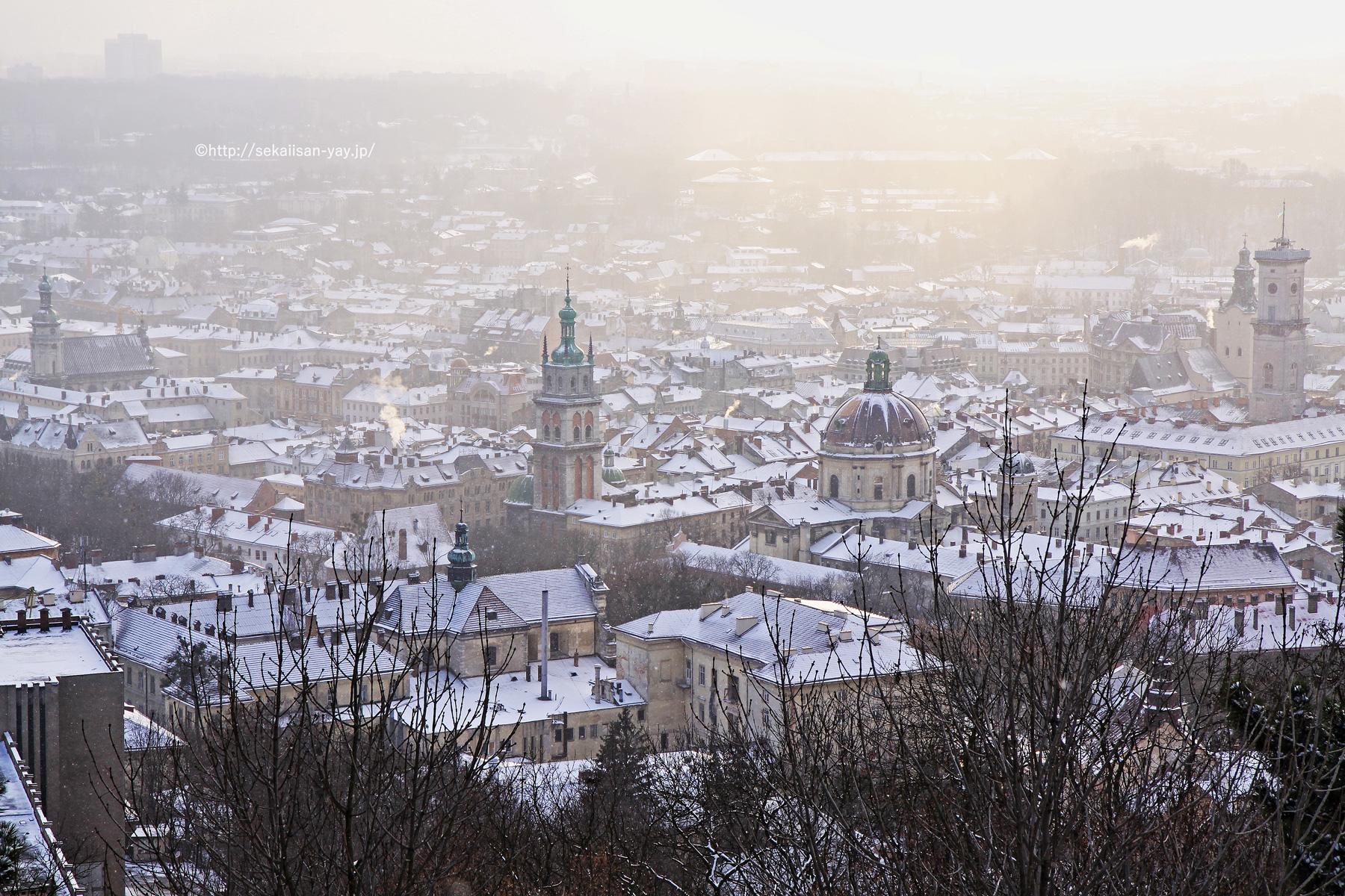ウクライナ世界遺産「キエフ:聖ソフィア大聖堂と関連する修道院建築物群、キエフ-ペチェールスカヤ大修道院」
