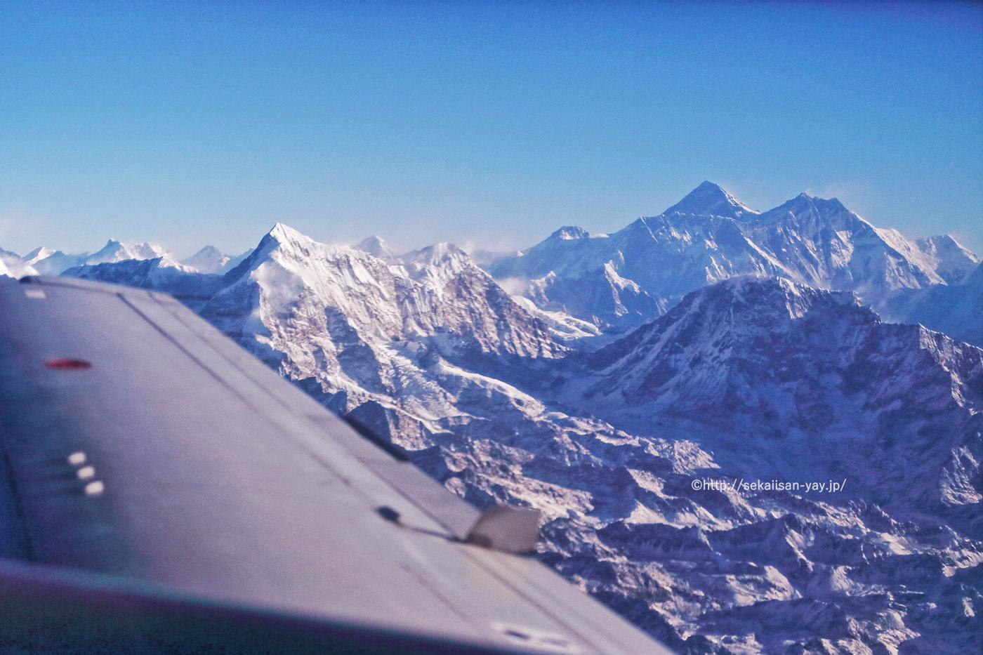 ネパール世界遺産「サガルマータ国立公園」 - エベレスト(チョモランマ)