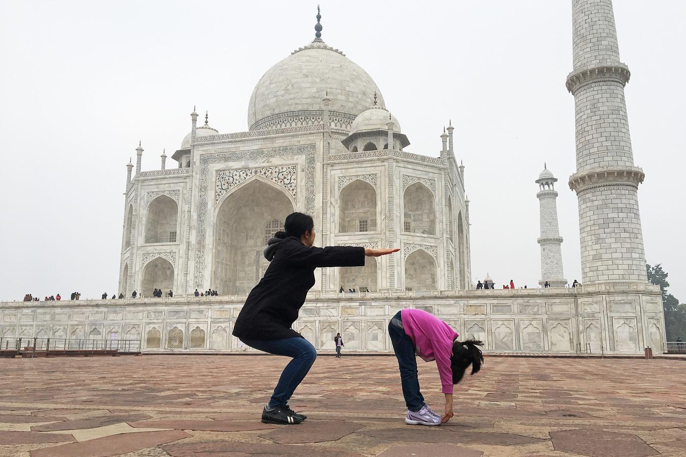 インド世界遺産「タージ・マハル」