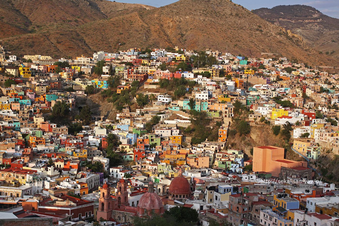 メキシコの世界遺産「古都グアナフアトとその銀鉱群」