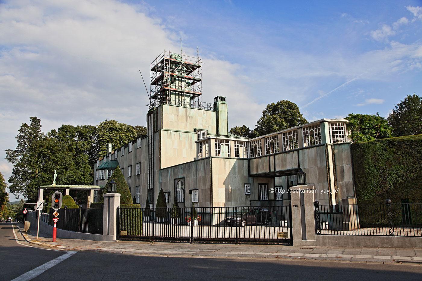 ベルギーの世界遺産「ストックレー邸」