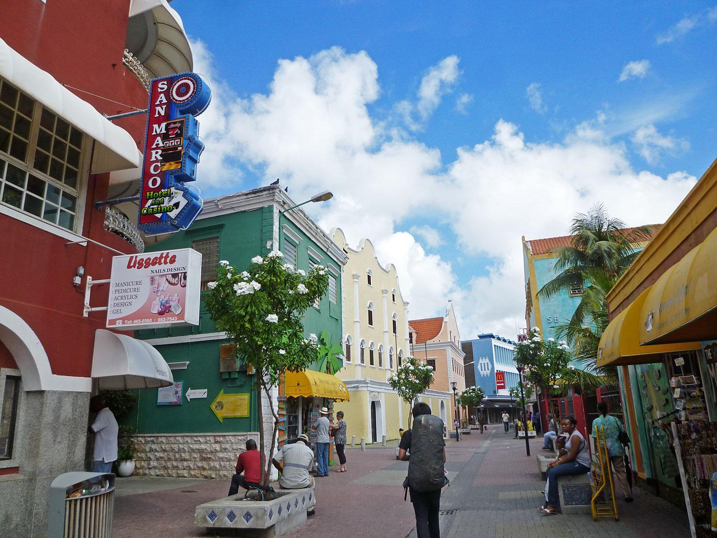 オランダ世界遺産港町ヴィレムスタット歴史地域」- キュラソー島(カリブ海)