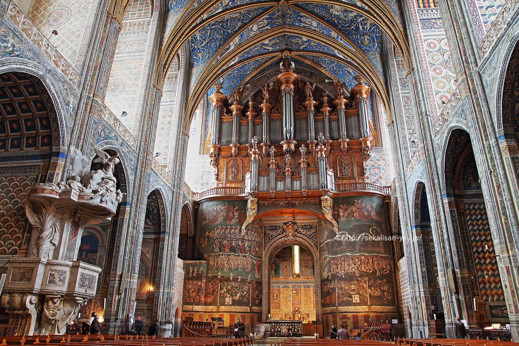 フランス世界遺産「アルビ司教都市」- サント・セシル大聖堂