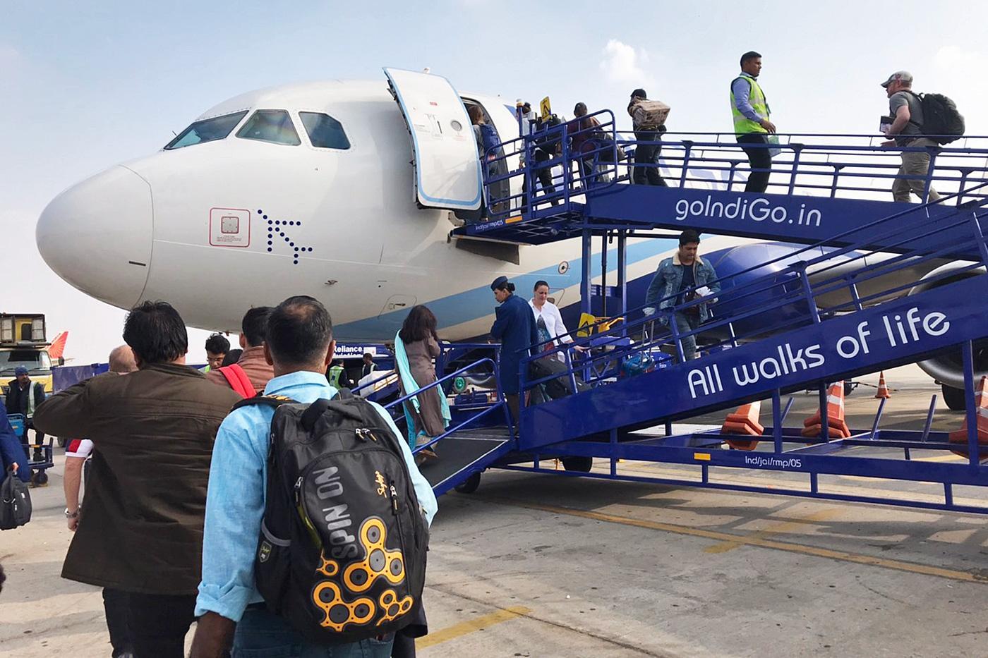 インド飛行機