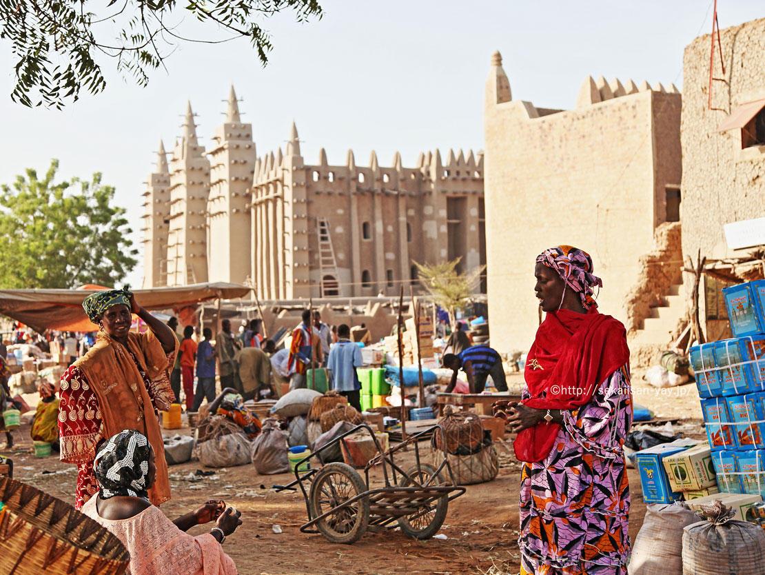 マリ世界遺産「ジェンネ旧市街」